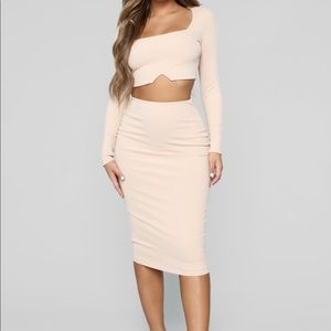 Matching Skirt/Top Set Fashion Nova